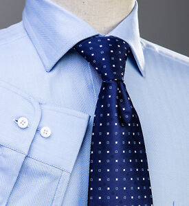 Light blue business formal dress shirt super extra large for Dress shirts for big and tall