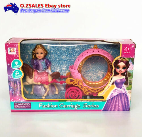 Cinderella Carriage with light and music BRAND NEW IN BOX GITR TOY GIFT