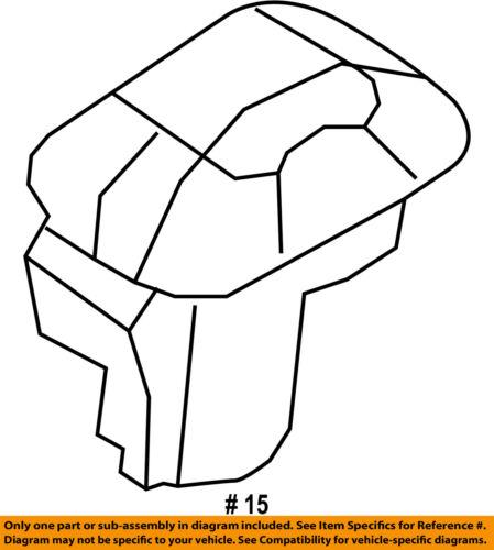 FORD OEM Headlamp-Sentinel Sensor 7L1Z13A018A