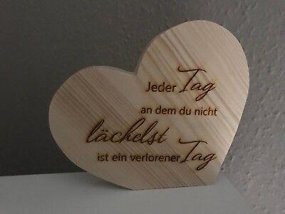 Deko Herz Aus Holz Geschenk Spruch Spruche Freundschaft Familie