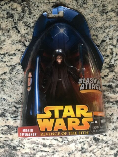 Hasbro Star Wars: Revenge of the Sith Anakin Skywalker Slashing Attack Action...