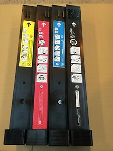HP-Colour-LaserJet-CM6030-CM6040-HP-Genuine-Complete-Part-Used-Toner-Set