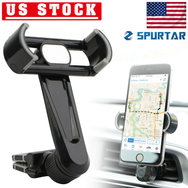 de9e3be1b2b5cd Air Vent Cell Phone Holder 360° Car Mount Stand For Mobile GPS iPhone  Samsung US