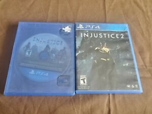 Injustice: Gods Among Us Ultimate Edition & Injustice 2 PS4