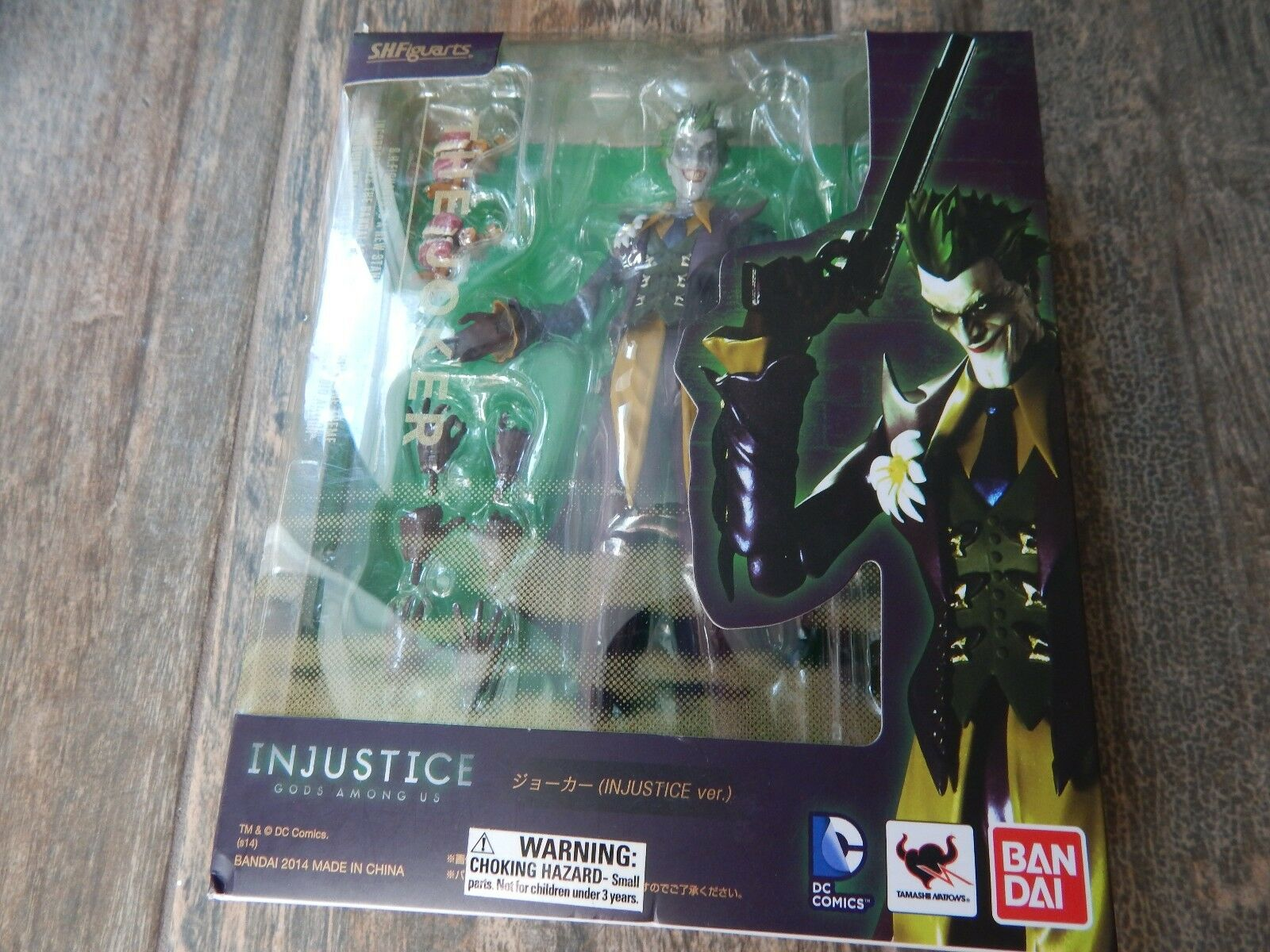 NEW S.H. Figuarts The Joker S.H.Figuarts Injustice Gods Among Us Action Figure