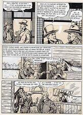 BOB DAN LE CHIEN MEXICAIN PLANCHE ORIGINALE BILL TORNADE ARTIMA PAGE 7