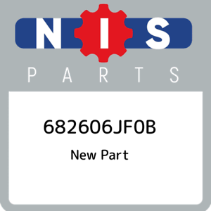 68260-6JF0B-Nissan-682606jf0b-682606JF0B-New-Genuine-OEM-Part