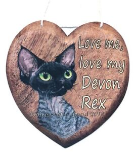 Devon-Rex-cat-art-sign-heart-from-original-painting-laminated-by-Suzanne-Le-Good