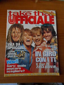 rivista-musicale-TAKE-THAT-la-rivista-ufficiale-del-fan-club-n-8