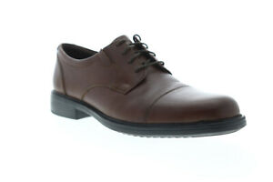 Bostonian-Bardwell-Limit-Mens-Brown-Wide-2E-Casual-Lace-Up-Oxfords-Shoes-8-5