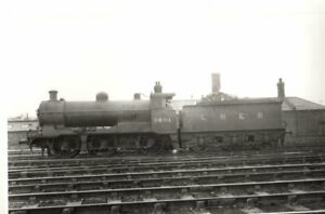 Rail Photo LMS MR 060 3F 43518 Heaton Mersey shed Stockport CLC LNER GCR
