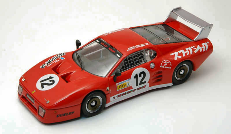 Ferrari 512 Bb Retired 6 H Fuji 1982 Henn   Henn 1 43 Model BEST MODELS