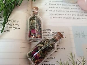 Details about WITCHES HERB BOTTLE OF PROTECTION FOR SELF PROTECTION &  SAFETY - SPELL KIT PAGAN