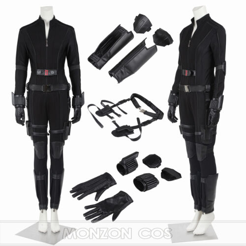 Captain America 3 Civil War Black Widow Costume Natasha Romanoff Costume FULL