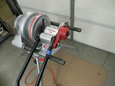 Ridgid 200 Pipe Threader Head With Stand Amp Rigid 916 Roll Groover 1 14 To 6