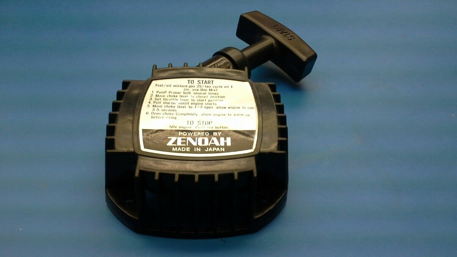 Gneuine Zenoah pullstarter suitable Zenoah G2D70 and G2D96. Like FG 7323  | Reichhaltiges Design