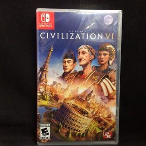 Details about Sid Meier's Civilization (6) VI (Switch) Brand New / Region  Free
