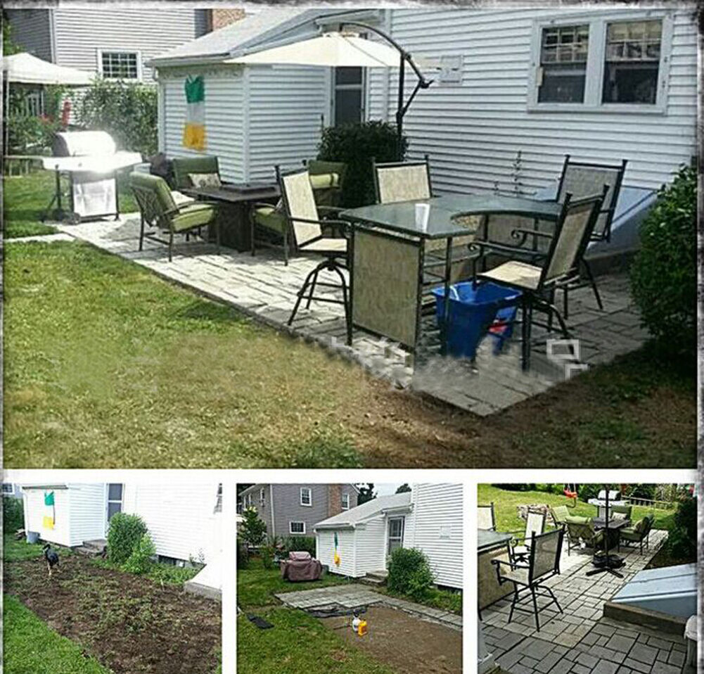 Concrete Outdoor Kitchen Countertops: Garden Paving Pavement Mold Patio Concrete Stone Path Walk