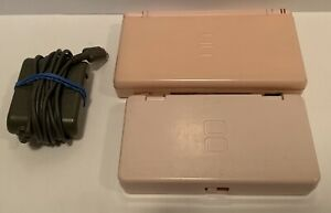 Nintendo-DS-Lite-Coral-Pink-Console-Games-Bundle-Tested-amp-Complete