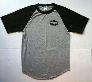 NEW SIG SAUER Handguns Baseball Style T-shirt Grey/Black Sizes S-M-L-XL-XXL