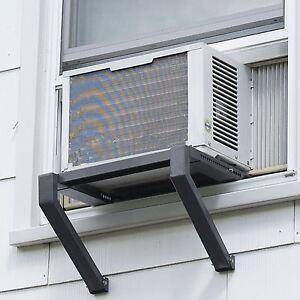 Image is loading Window-Air-Conditioner-Bracket-Universal-Adjustable-AC -Unit- Window Air Conditioner Bracket Universal Adjustable AC Unit Stand