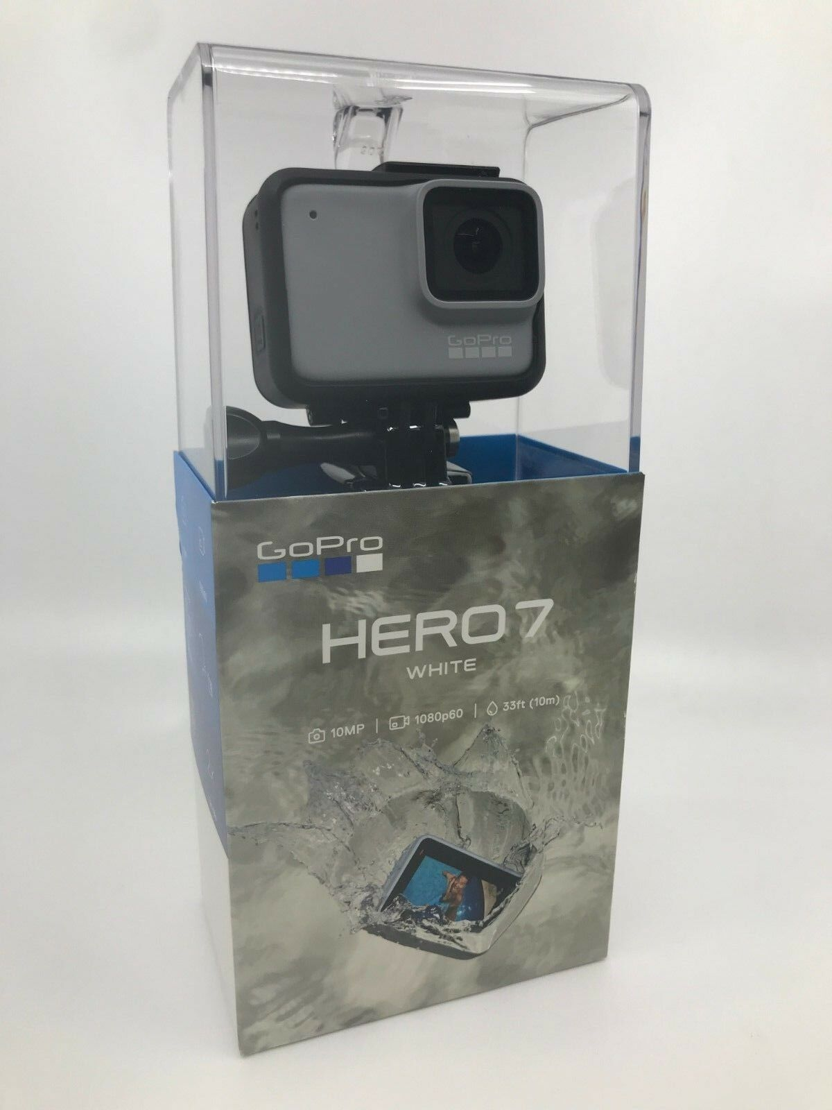 New GoPro HERO7 White Waterproof Action Camera, Touch Screen, 1440p HD Video Featured