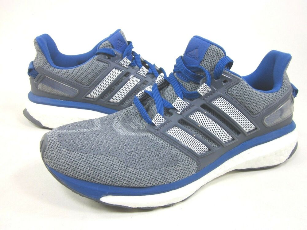 ADIDAS PERFORMANCE homme ENERGY BOOST 3 M fonctionnement chaussures,Gris/Bleu,US Taille 8.5 M