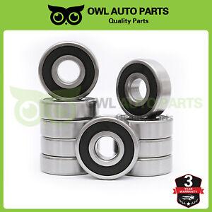 Qty. 10 6003-2RS C3 Premium Rubber Sealed Ball Bearing 17x35x10