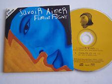 CD SINGLE DE FLORENT PAGNY , SAVOIR AIMER  .TRES  BON ETAT.