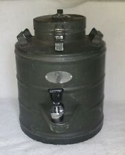 MILITARY SURPLUS SUPER CHEF 3 GALLON GAL COFFEE NO MILK COOLER STAINLESS ARMY