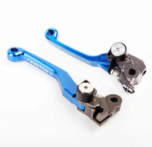 CNC Pivot Brake Clutch Levers For Suzuki RM85 125 250 RMZ250 450 RMX250S 250SB