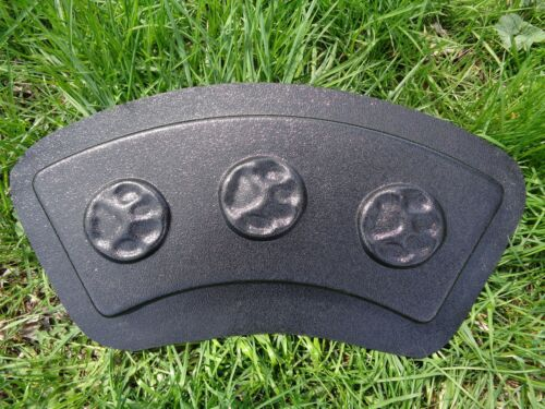 Tree ring paw print mold concrete plaster edging mould