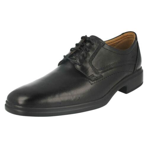 negro con hombre cordones Clarks zapatos formales Glevo para Walk aI8waUqTA6