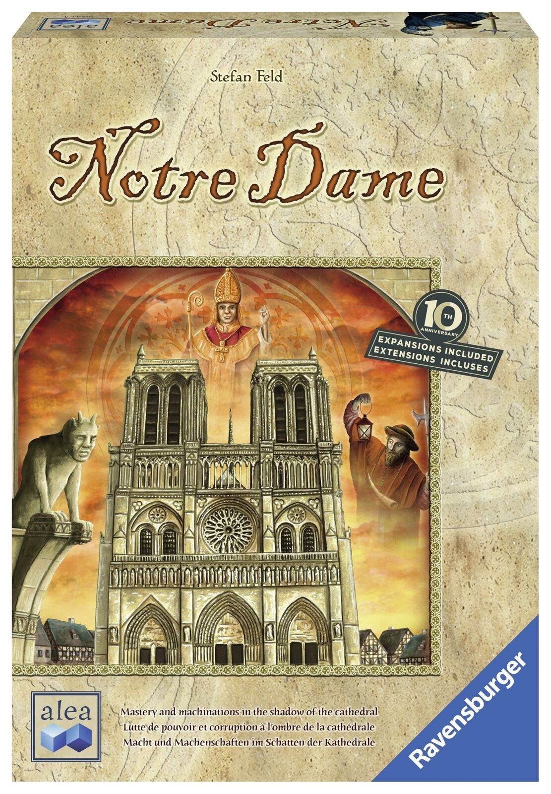 Ravensburger 26994 Notre Dame: 10th Anniversario EDITION Gioco da tavolo strategia
