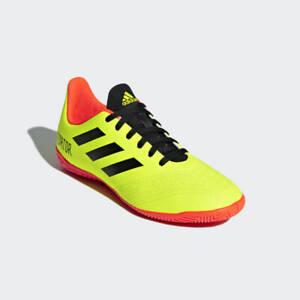 Adidas Predator Tango 18.4 IN J Kids Shoes Boys Youth Soccer Sneaker Futsal 12.5