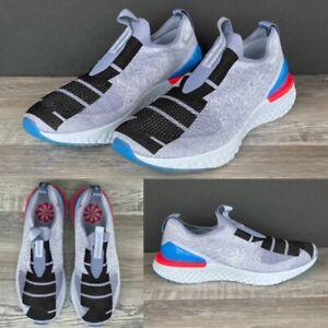 Nike-Epic-Phantom-React-Flyknit-JDI-CI1291-400-Laceless-Shoes-Mens-Size-9-5