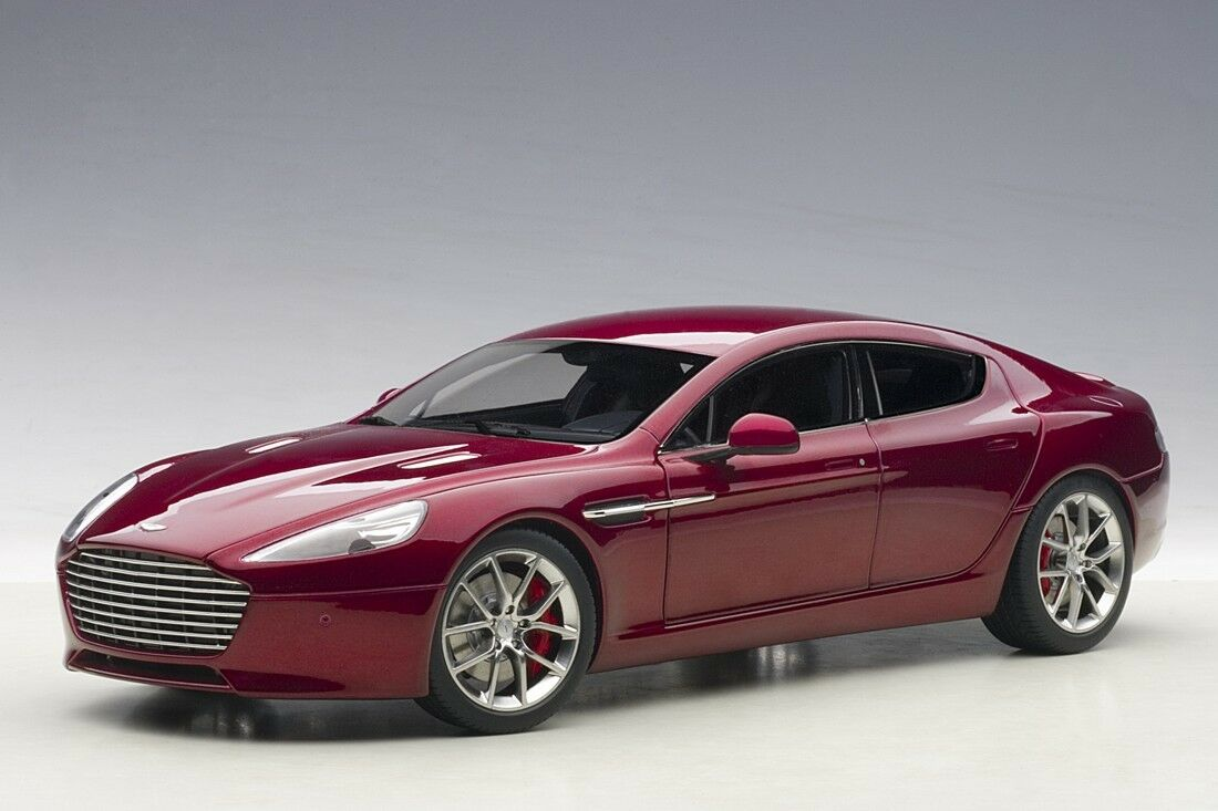 2015 ASTON MARTIN RAPIDE S STRATUS DIAVOLO RED 1 18 AUTOart NEW IN BOX
