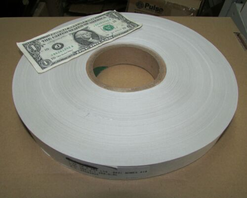 """x 1.25/"""" Roll Nomex 418 Electrical Insulation Paper Tape Aramid Hi Heat 565 Yds"""