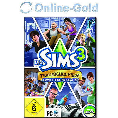 Die Sims 3 - Ambitions Addon / Traumkarrieren / EA/ORIGIN Download Code [PC][DE]