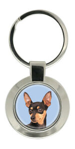 Novelty Dog Keyring Ideal Gift Angels Are Often Disguised As Miniature Pinscher