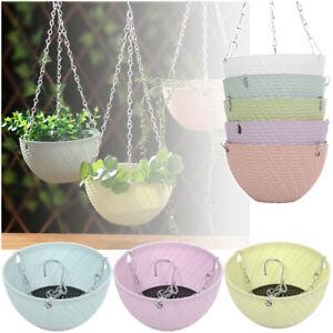 Plant-Bracketplant-Chains-Flowerpot-Rattan-Pattern-Hanging-Basket-Flower-Pots