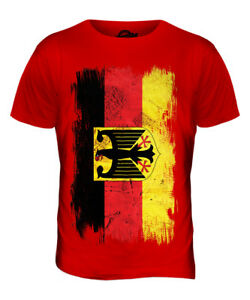 GERMAN flag T-shirt in grunge style Germany DEUTSCHLAND