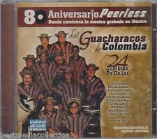 Los Guacharacos De Colombia CD NEW 24 Cumbias 80 Aniversario PEERLESS SEALED