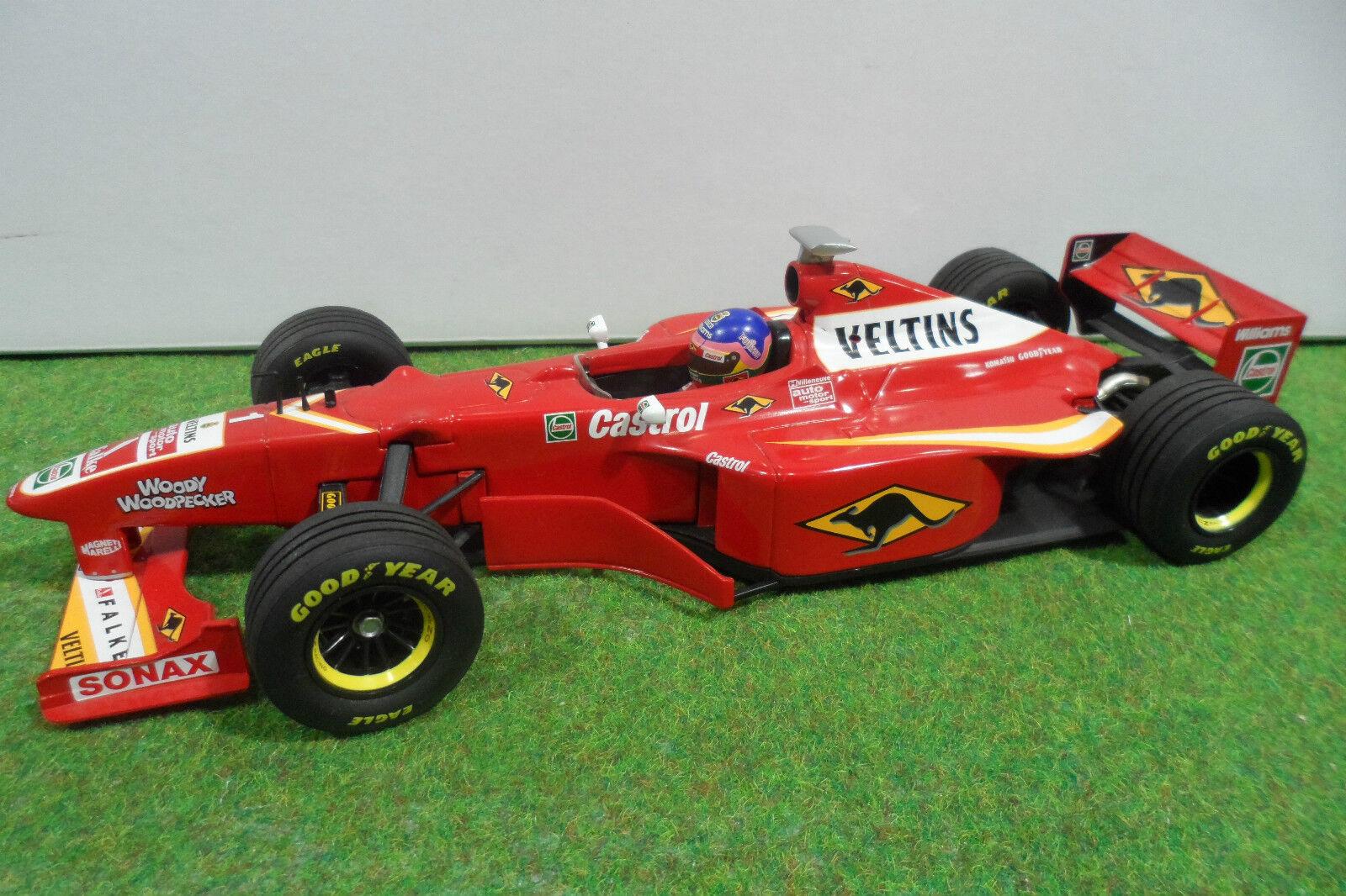 F1 WILLIAMS FW20  1 MECACHROME 1998 VELTINS au 1 18 MINICHAMPS voiture miniature