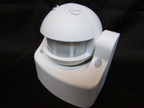 Bewegungsmelder 180° IP44  IR LED 220V  max.12m1000Watt Dämmerungs-Automatik