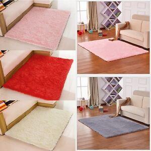 11 farbe geeignet wohnzimmer schlafzimmer vorleger teppiche teppich matte haus ebay. Black Bedroom Furniture Sets. Home Design Ideas