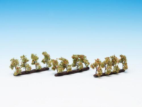 Encore21532Piste h0 TTplantations arbres avec des pommesModèle Arbres