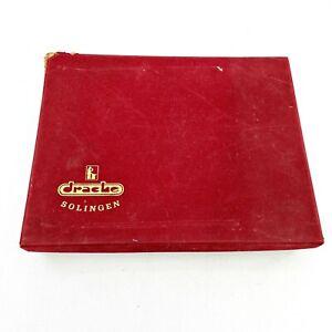 Vintage-Drache-rostfrei-Solingen-Germany-Silberbesteck-BESTECKE-30-teilig-Set-mit-Etui