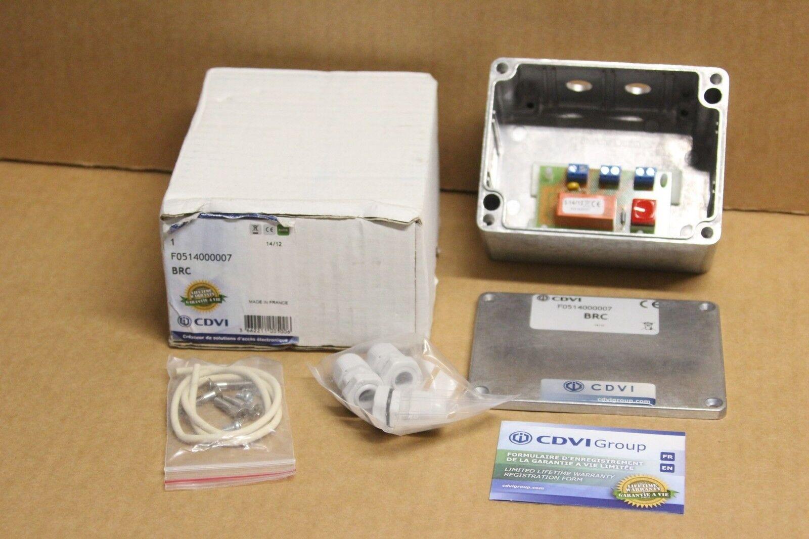 Boitier relais commande ventouses & gaches electromagnetiques - CDVI F0514000007
