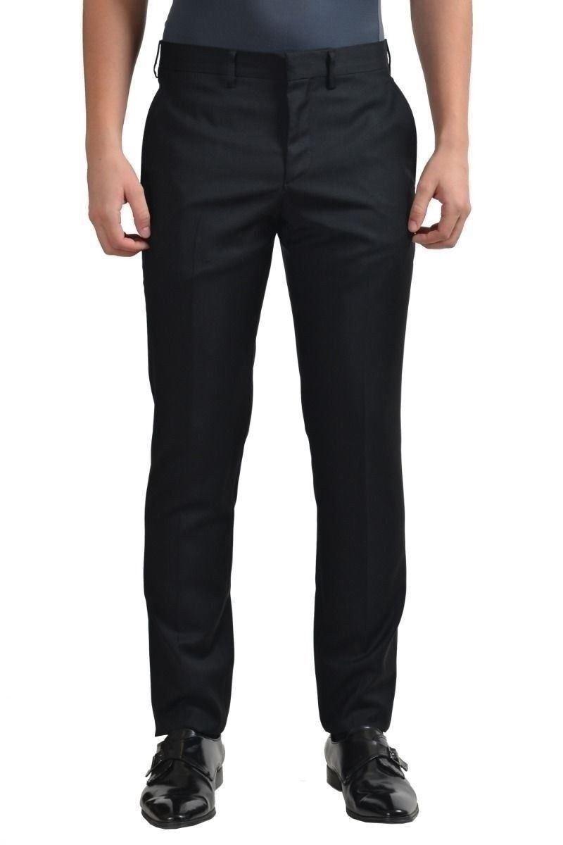 Versace Herren Schwarz 100% Wolle Anzughose Us 32 It 48